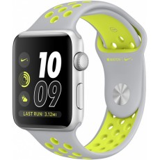 Watches 38 Nike silver/volt