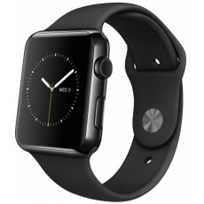 Watches 42 sport band black stainless steel S2